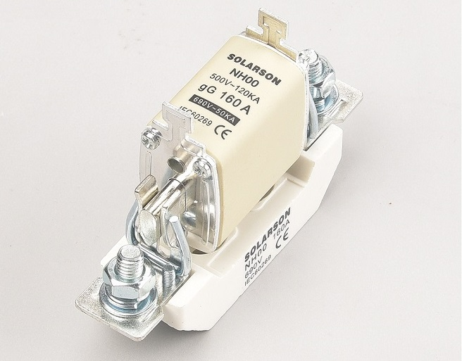 500V 690V HRC NH fuse and base ,NH00C,NH00,NH1,NH2,NH3,NH4 fuse and base